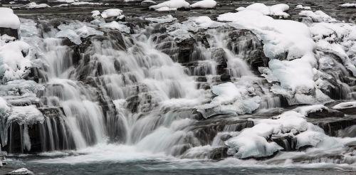 sacred dancing cascades waterfall winter