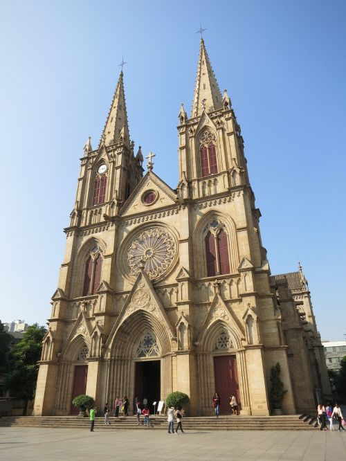 sacred heart cathedral canton china