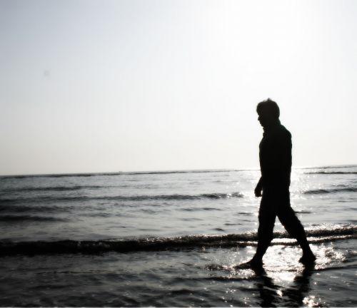 sad boy walking walking alone sad alone