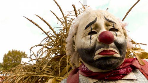 Sad Fall Clown