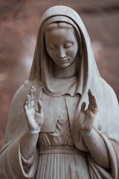 Sad Woman Praying