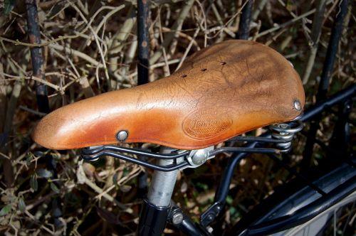 saddle bicycle saddle leather saddle