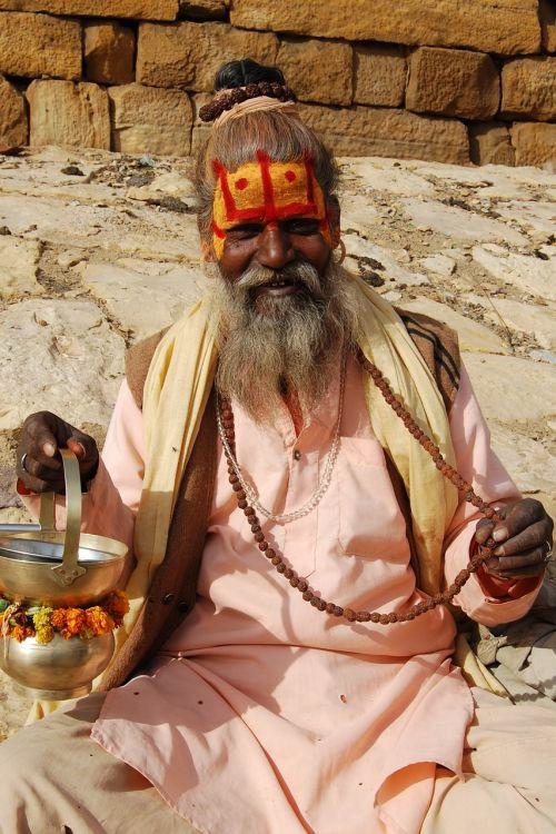 sadu,šventas,vyras,Indija,religija,religinis,šventas,tikėjimas,dvasingumas