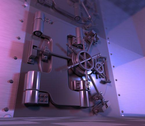 safe vault steel door