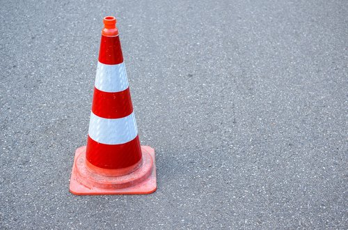 safety  cone  road