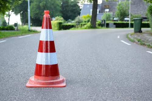 safety cone  road  traffic