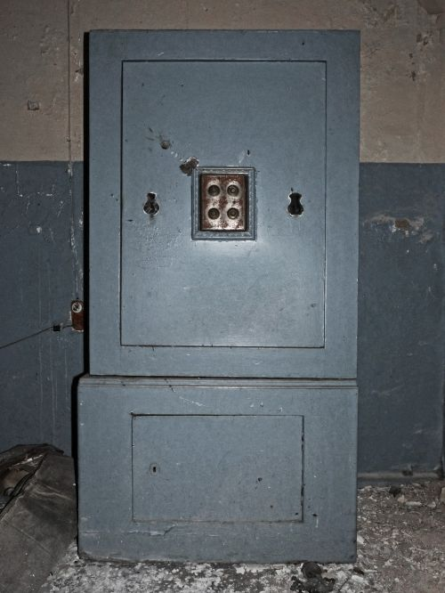 safety deposit box old abandoned