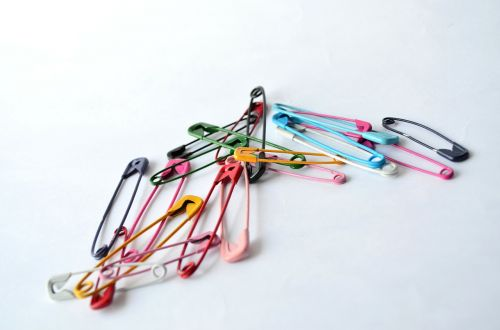 safety pins pins needle