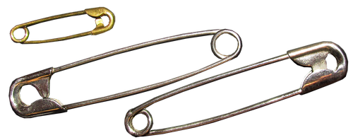 safety pins  household item  sewing