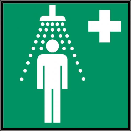 safety shower shower douche