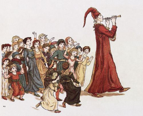 sage the pied piper of hamelin drawing