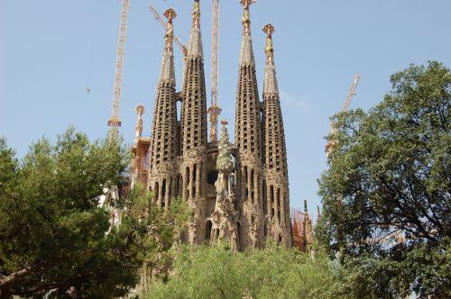 sagrada familia barcelona catalonia