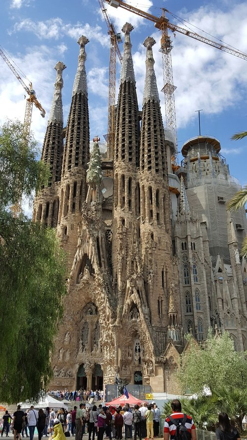 sagrada familia  spain  tourism