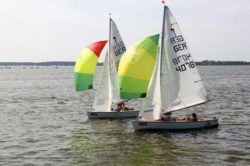 sail sailing boat spinnaker