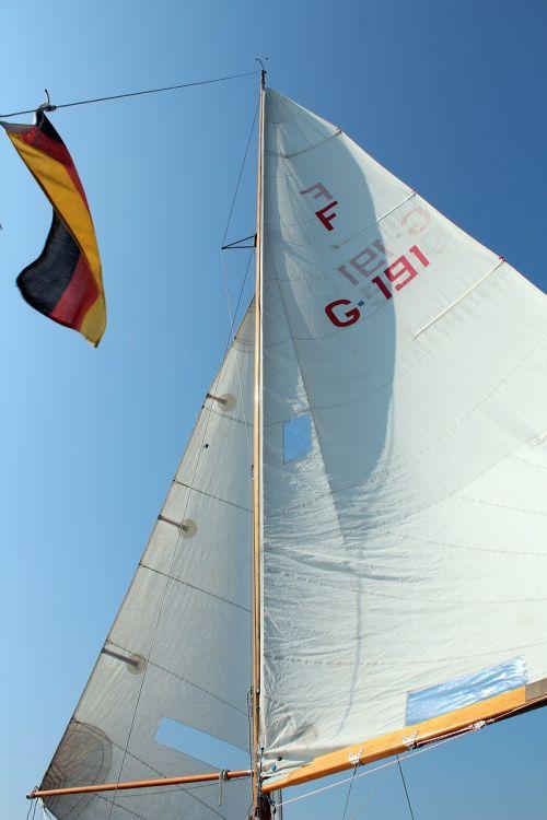 sail sailing boat fock