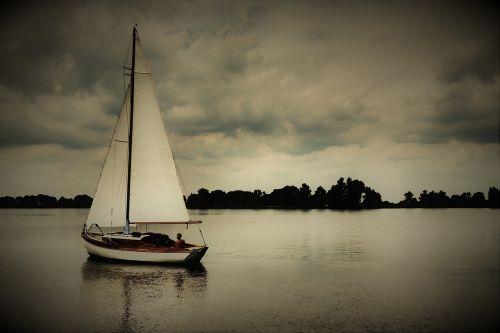 sail sailing boat mast