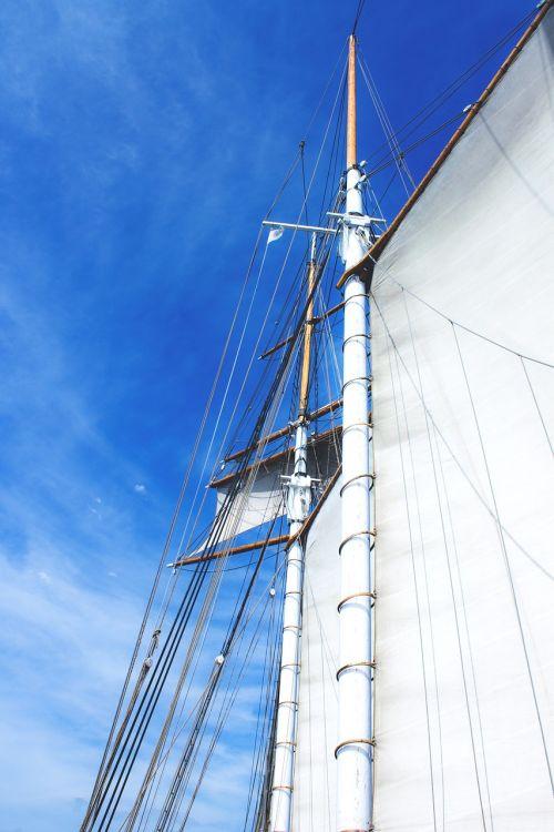 sail boot sky