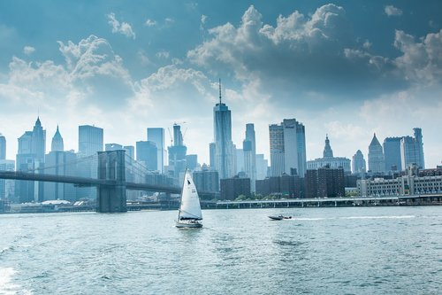sail  skyline  skyline new york