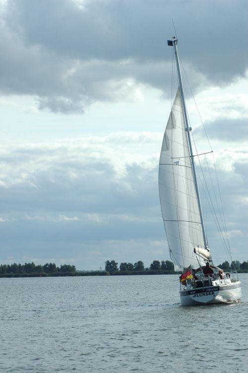 sail sailing vessel sea