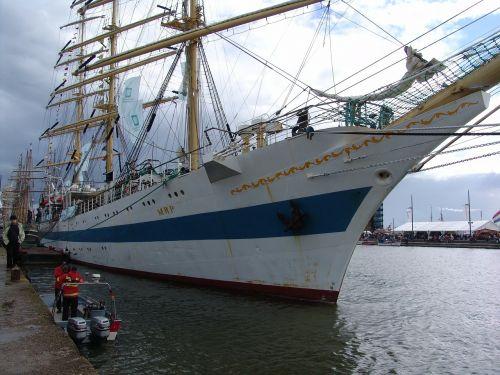 sail sailing vessel bremerhaven