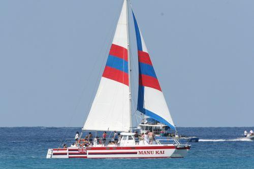 sail boat ocean sky