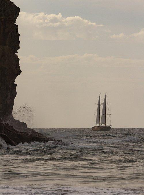 sail boat  boat  water