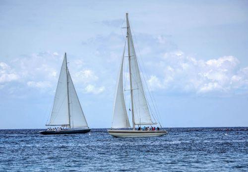 sail boats caribbean boat