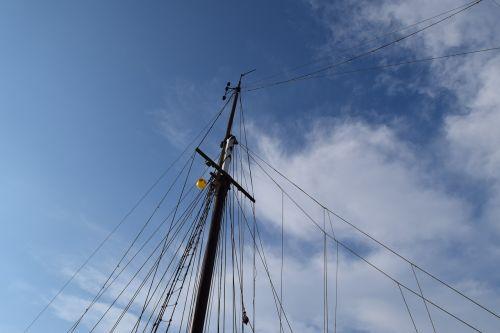 sail mast mast ship