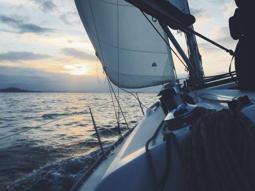 sailboat sailing boat sea