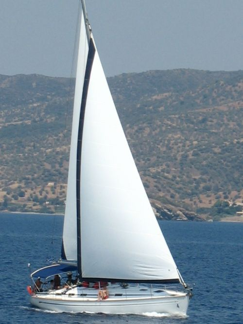 sailboat mediterranean greece