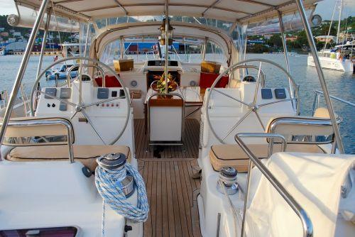 sailboat cockpit gear