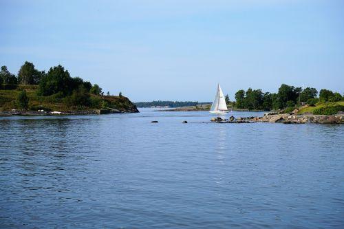 sailboat archipelago helsinki