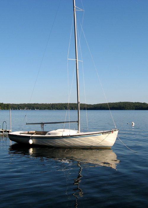 sailboat boat lake