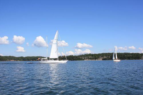 sailboat sea boating