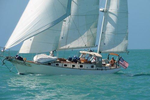 sailboat  cutter  sails