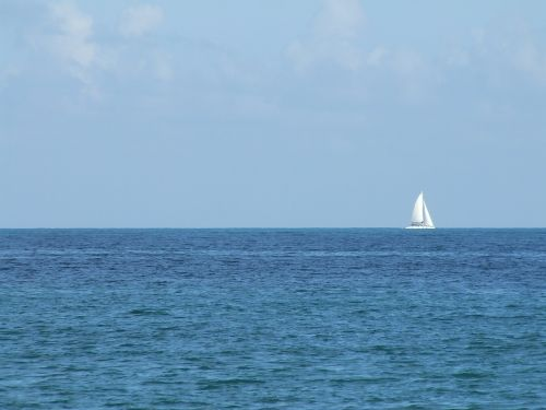 sailboat boat sea