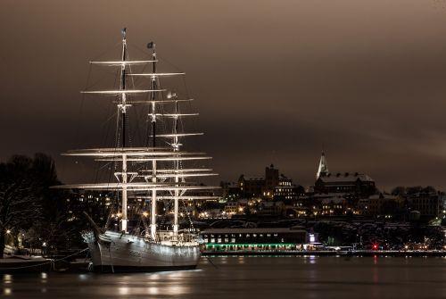 sailboat water stockholm