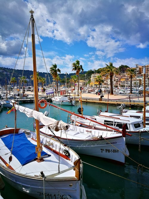 sailboats  tourism  balearic islands