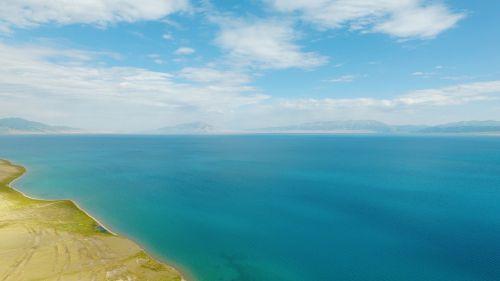 sailimu lake sky uav