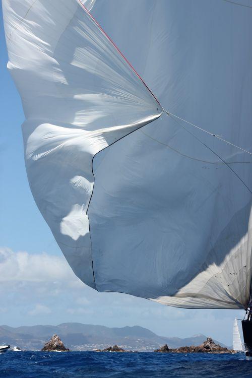 sailing sea sailboat