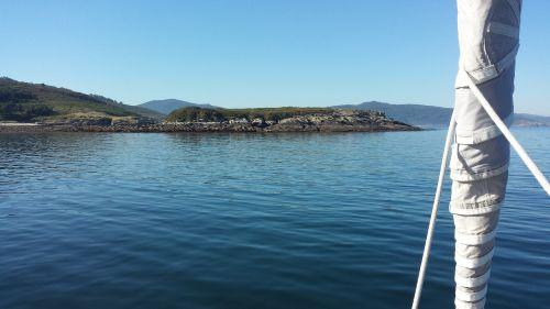sailing galicia sea