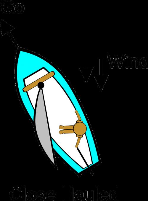 sailing instructions diagram