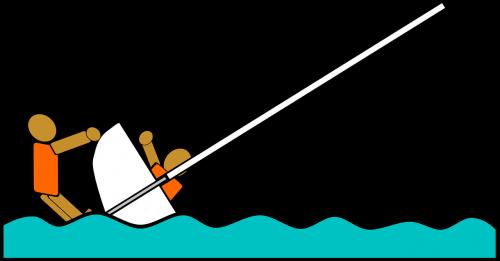 sailing sailboat capsize