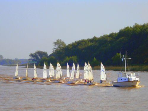 sailing sailing boat river