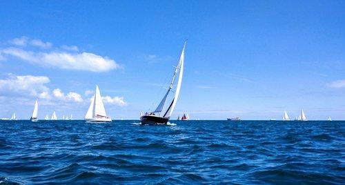 sailing  race  boat
