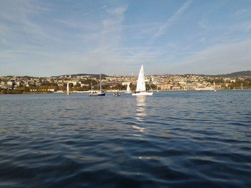 sailing lausanne ouchy
