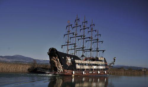 sailing ship vessel
