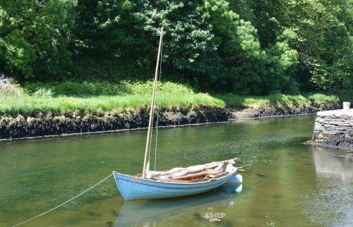 sailing boat pier sail