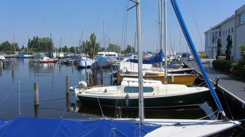 sailing boat marina port
