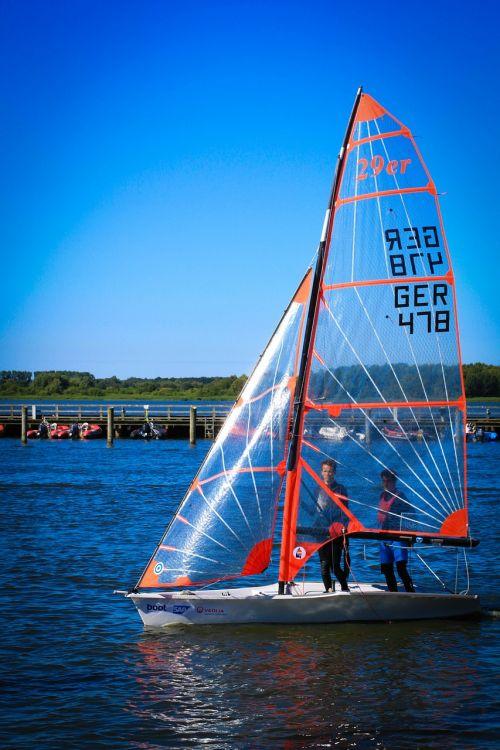 sailing boat 29er boot
